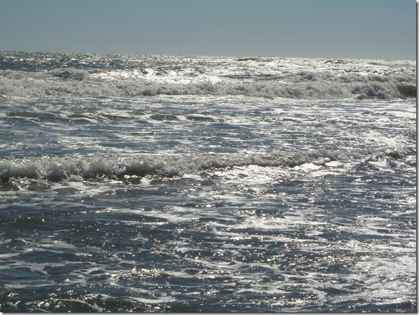 Waves in Ocracoke.