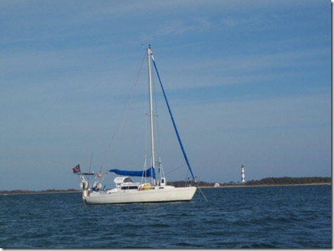 Velocir at Cape Lookout