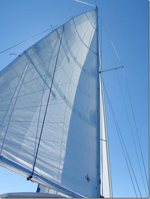 Velocir's Albin Vega Sail Design