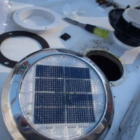 I'm On A Boat- Solar Vent Installation
