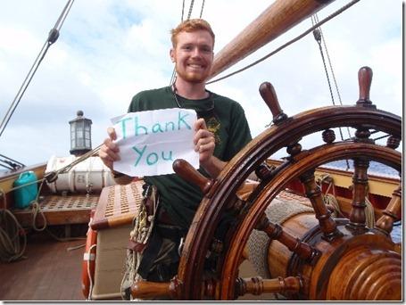Thank You HMS Bounty