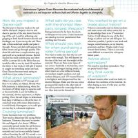 Sail Care, Interview with an Expert - Article in SpinSheet Magazine